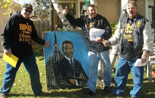 Labor Day: President Obama goes to Milwaukee's LaborFest