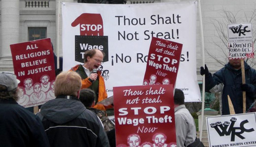Going to church to fight wage theft