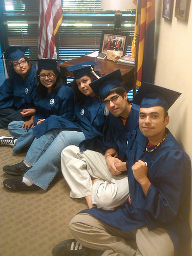 Undocumented and unafraid: Immigrant youth sit-in in Arizona