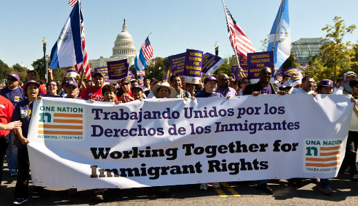 Union leaders reiterate support for immigration reform