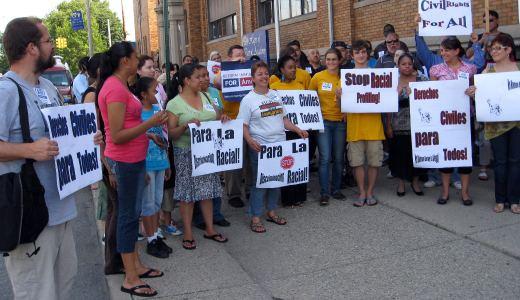 Detroit community demands end to racial profiling