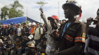 Freeport strikers in Indonesia confront titanic forces
