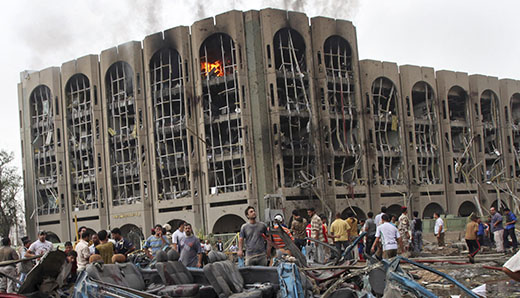 Iraq blast targets government, elections