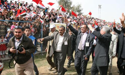Big voter turnout in Iraq, undeterred by violence