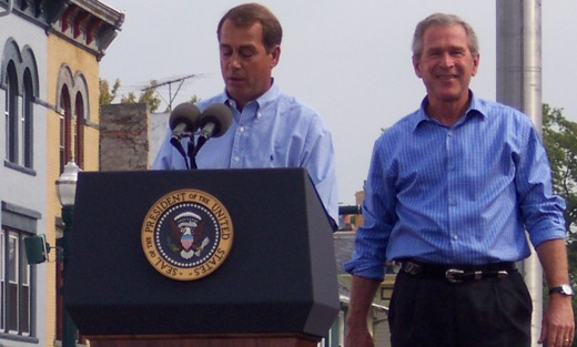 Boehner blinks on Bush tax cuts for the rich