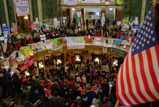 Pro-union rallies spread, message deepens