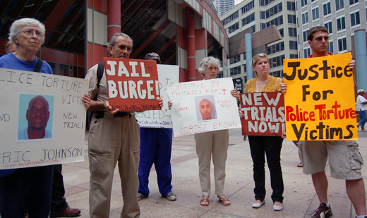 Illinois sues to prevent pension for cop tied to torture