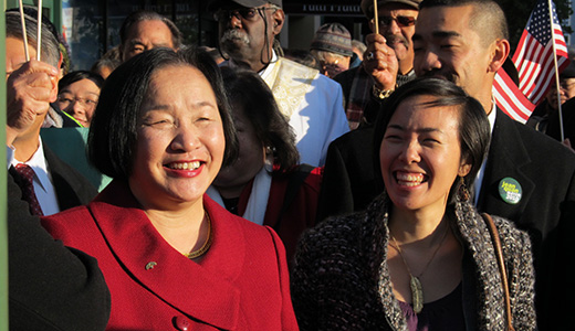Jean Quan becomes first Asian American woman to lead major U.S. city