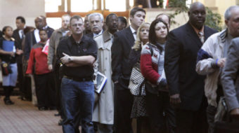 It's official: jobless rate in January at 9 percent