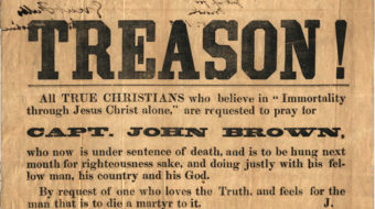 Today in labor history: Abolitionist John Brown was hanged