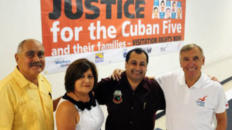 L.A. labor event backs justice for Cuban 5