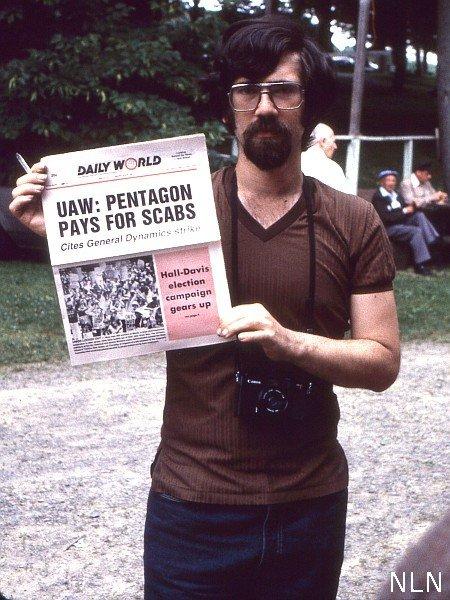 Kenneth J. BeSaw, photojournalist and Communist