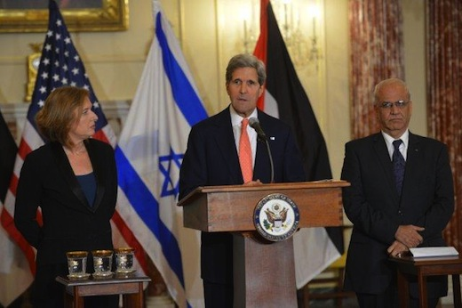 Goal is Israeli-Palestine pact in 9 months, Kerry says