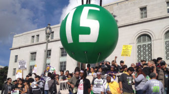 What's outrageous? Poverty wages! (with video)