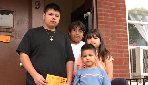 Latino children suffer most in foreclosure crisis, report says