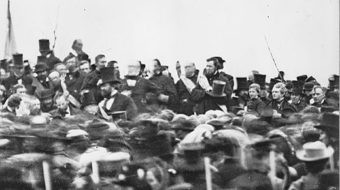 Today in history: President Lincoln's Gettysburg Address