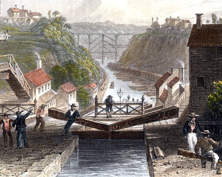 Today in labor history: The Erie Canal unites Midwest to East Coast