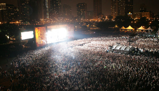 Lollapalooza music festival sparks controversy