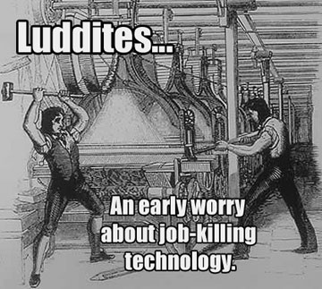 Today in labor history: Luddites rebel against substandard work conditions