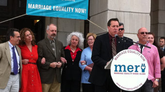 Rhode Island passes civil unions bill, with controversy