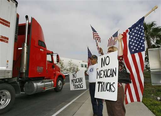 Teamsters blast green light allowing Mexican trucks roll nationwide