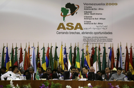 South American & African countries hold historic meeting