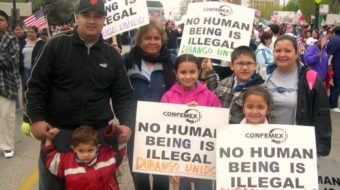 "Third grade homework: Should U.S. put ""illegal aliens"" to death?"