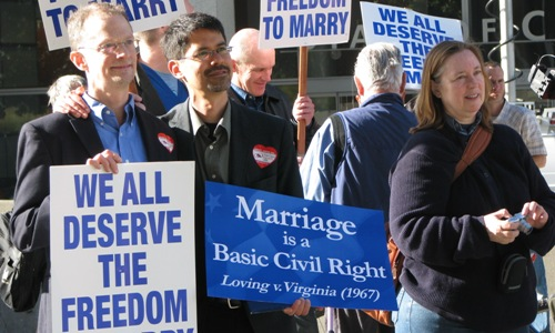 At Prop. 8 closer, marriage equality supporters keep up fight