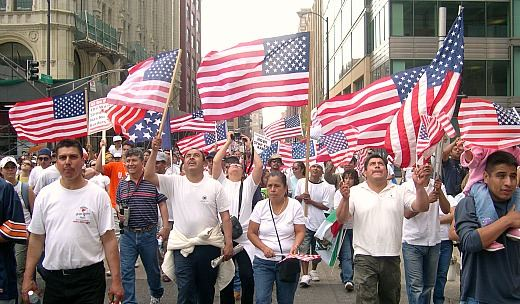 Latinos, immigrants and labor form strategic alliance