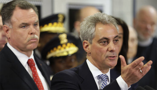 Chicago police chief sacked, Mayor Emanuel flees to Paris