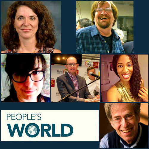 """People's World"" names new top editors"