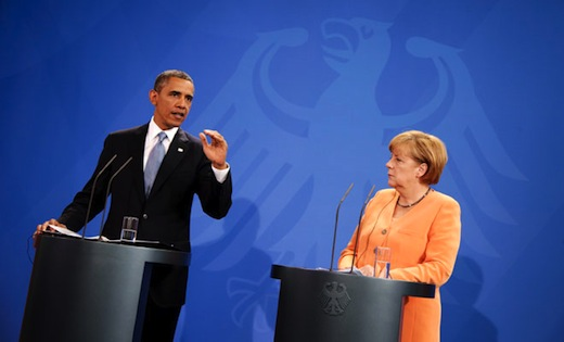 As elections loom in Germany, few support Obama on Syria