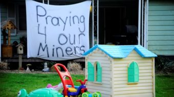 Mourners stage vigils for miners; Blankenship updates Twitter page