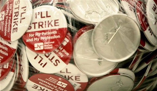 Minnesota nurses vote to strike