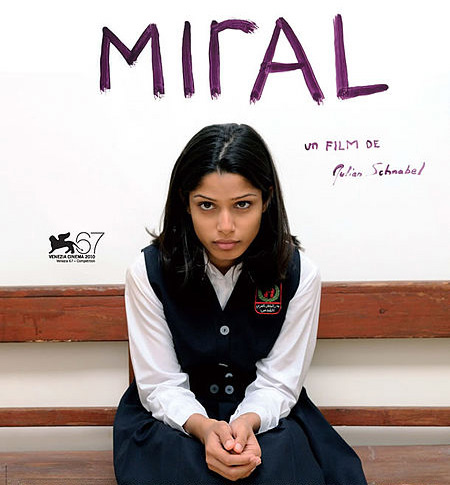 """Miral"": controversial film paints Middle East mirage"