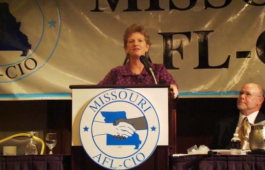 Unions shape Missouri Senate race: GOP/Wall Street vs. everybody else