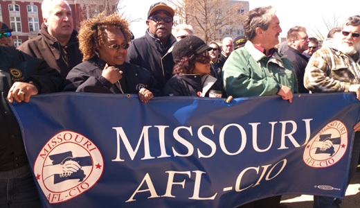 Outpouring in Missouri Capital demands end to attacks on labor