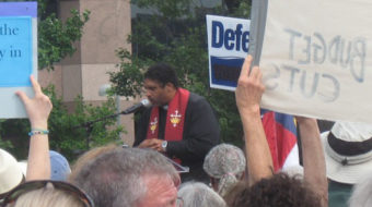 "North Carolina ""Moral Monday"" protests battle right-wing agenda"