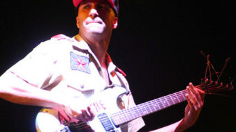 Guitars should be a means to liberation, not exploitation, says Rage's Morello
