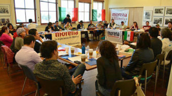 """There is hope"": Asamblea Morena reaffirms its social movement roots"