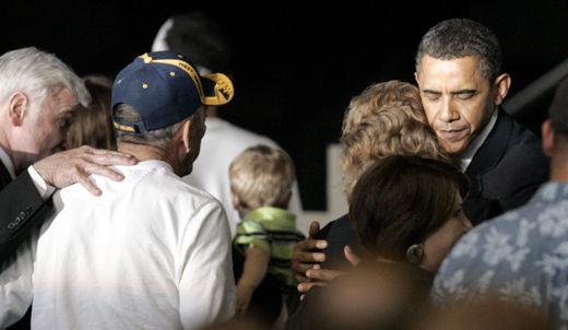 President Obama makes history – again!