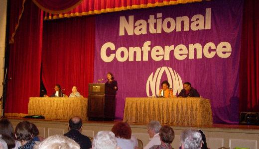 Women's movement energized at national meet