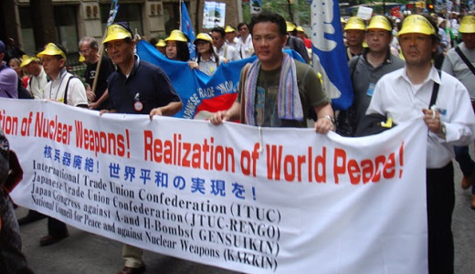 "Ban Ki-moon urges anti-nuke activists to ""Keep it up"""