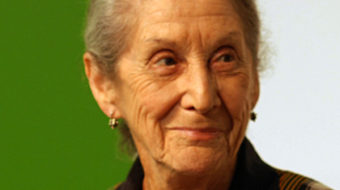 Nadine Gordimer, Nobel laureate, activist, dies