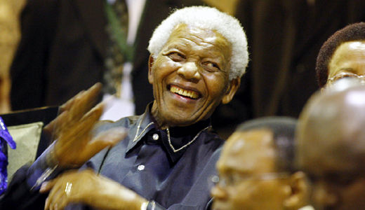 South Africa honors 20th anniversary of Nelson Mandela's freedom