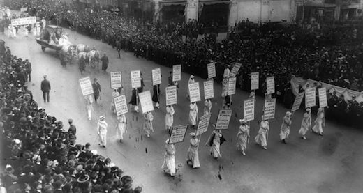 Today in labor history: Women win right to vote, Women's Equality Day declared