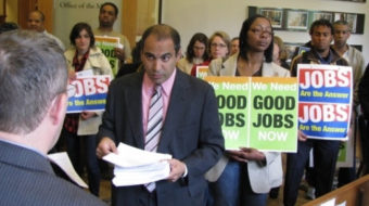 """New Haven leaders say, """"Show us good jobs!"""""""