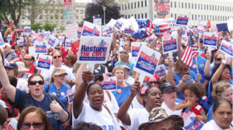 New Jersey stands up to Gov. Christie