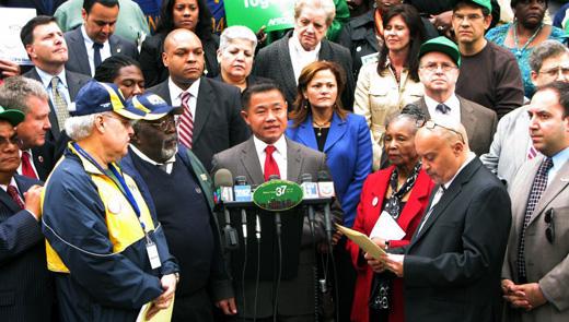 New York City mayoral hopefuls debate stop and frisk, union busting
