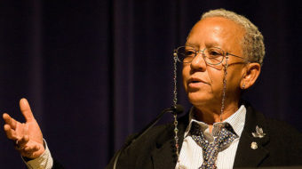 Nikki Giovanni: rap poetry is part of world literature